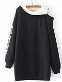 preiswerte Damen Kapuzenpullover & Sweatshirts-Damen Grundlegend Pullover Buchstabe