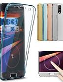 olcso Mobiltelefon tokok-Case Kompatibilitás Huawei P20 Pro / P20 lite Átlátszó Héjtok Egyszínű Puha TPU mert Huawei P20 / Huawei P20 Pro / Huawei P20 lite / P10 Plus / P10 Lite / P10