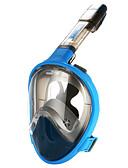 رخيصةأون بدلات غطس و بدلات المنقذ-أقنعة غوص مكافح الضباب, أقنعة وجه كامل, 180 درجة نافذة واحدة - تزلج على الماء إلى عن على بالغين أصفر / فوشيا / أزرق