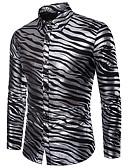 olcso Férfi pólók-Alap Férfi Ing - Egyszínű
