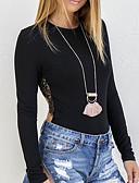 povoljno Majica s rukavima-Majica s rukavima Žene - Osnovni Dnevno Jednobojni / Color block Kolaž
