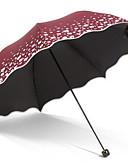 abordables Monos y Rómpers para Mujer-Acero Inoxidable Todo Soleado y lluvioso / Nuevo diseño Paraguas de Doblar