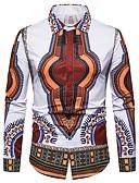 povoljno Muške košulje-Majica Muškarci Dnevno Etno