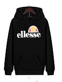 preiswerte Damen Kapuzenpullover & Sweatshirts-Damen Aktiv Kapuzenshirt Solide
