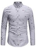 ieftine Tricou Bărbați-Bărbați Cămașă De Bază - Mată