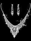 preiswerte Brautjungfernkleider-Damen Klassisch Schmuck-Set - Künstliche Perle Kreativ Süß, Modisch, Elegant Einschließen Halskette Silber Für Hochzeit Party