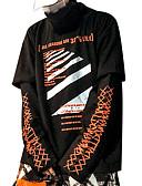 povoljno Muške majice i potkošulje-Muškarci Dugih rukava Sportska majica Color block Dolčevita