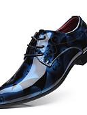 levne Pánská tílka-Pánské Společenské boty PU Jaro Business Oxfordské Žlutá / Červená / Modrá