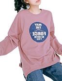 ieftine Tricou-Pentru femei Tricou De Bază - Scrisă