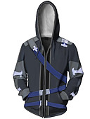 cheap Men's Swimwear-Hoodie Sword Art Online Kirito Terylene Cartoon