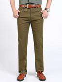 ieftine Pantaloni Bărbați si Pantaloni Scurți-Bărbați Zvelt Pantaloni Chinos Pantaloni Mată