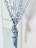 お買い得  マキシドレス-ドアパネルカーテンドレープ エントリー&汚れた履き物を脱ぐ部屋 現代風 ポリエステル 反応染料