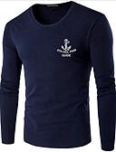 ieftine Maieu & Tricouri Bărbați-Bărbați Tricou Șic Stradă - Scrisă Imprimeu