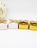 abordables Soportes para Regalo-De Forma Cúbica Cartón de papel Soporte para regalo  con Diseño / Estampado Cajas de Regalos - 25pcs