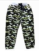 Χαμηλού Κόστους Παντελόνια για αγόρια-Παιδιά Αγορίστικα Βασικό Patchwork Βαμβάκι / Πολυεστέρας Παντελόνι Πράσινο Χακί