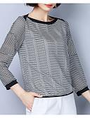 ieftine Tricou-Pentru femei Tricou De Bază - Mată Peteci