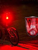 billige Herrebukser og -shorts-Baklys LED Sykkellykter Sykling Vanntett, Fort Frigjøring Oppladbart litiumbatteri 150 lm Rød Sykling - PROMEND