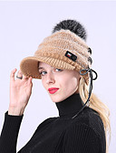 preiswerte Damenhüte-Damen Grundlegend / Urlaub Schlapphut - Gefaltet Solide
