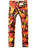 cheap Men's Pants & Shorts-Men's Military Chinos Pants - Camouflage Pink / Summer / Fall