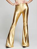 hesapli Bikiniler ve Mayolar-Kadın's Dışarı Çıkma İnce Geniş Bacak / Chinos Pantolon - Solid Mor Fuşya Açık Mavi L XL XXL