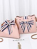 cheap Women's Dresses-Women's Bags PU(Polyurethane) Bag Set 2 Pieces Purse Set Bow(s) Red / Pink / Light Gray