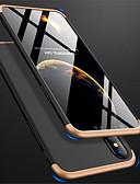 billige iPhone-etuier-Etui Til Apple iPhone XR / iPhone XS Max Syrematteret Fuldt etui Ensfarvet Hårdt PC for iPhone XS / iPhone XR / iPhone XS Max