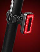 halpa Miesten eksoottiset alusvaatteet-LED Pyöräilyvalot Polkupyörän jarruvalo turvavalot takavalot Pyöräily Vedenkestävä Pikairrotettava Kestävä Ladattava akku 1000 lm Lataus / Virta Punainen Pyöräily - RAYPAL