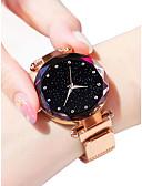 ieftine Quartz-Pentru femei Ceas de Mână Quartz Negru / Albastru / Violet 30 m Rezistent la Apă imitație de diamant Analog femei Sclipici Modă - Mov Albastru Roz auriu