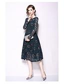 رخيصةأون فساتين سواريه-منفوش باتو، نيك طول الساق دانتيل حفلة رسمية فستان مع دانتيل بواسطة LAN TING Express