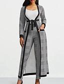 זול חליפות שני חלקים לנשים-צווארון V מכנס אחיד - סט בגדי ריקוד נשים