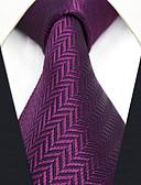 baratos Gravatas e Gravatas Borboleta-Homens Trabalho / Básico Gravata Sólido / Jacquard