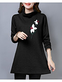 Χαμηλού Κόστους T-shirt-Γυναικεία T-shirt Κομψό στυλ street Φλοράλ