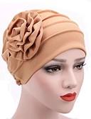 Χαμηλού Κόστους Φορέματα για τη Μητέρα της Νύφης-Υφαντό / 50% Ακρυλικό 50% πολυέστερ Καλύμματα Κεφαλής / Μαντήλι με Σκουφί / Με σχέδια 1 Τεμάχιο Γάμου / Καθημερινά Ρούχα Headpiece