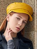 זול כובעים לנשים-כובע כומתה (בארט) / כובע קלושה\עם שוליים רחבים / כובע קסקט - אחיד וינטאג' / מסיבה בגדי ריקוד נשים