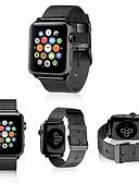 olcso Karóra tartozékok-Rozsdamentes acél Nézd Band Szíj mert Apple Watch Series 4/3/2/1 Fekete / Ezüst / Piros 23cm / 9 inch 2.1cm / 0.83 Hüvelyk