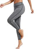 ieftine Rochii de Damă-Pentru femei Buzunar Pantaloni de yoga - Albastru, Gri Închis, Rust Red Sport Culoare solidă Dresuri Ciclism / Leggings Dans, Alergat, Fitness Îmbrăcăminte de Sport  Uscare rapidă, Butt Lift, Control