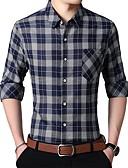 preiswerte Herren T-Shirts & Tank Tops-Herrn Geometrisch - Street Schick Hemd
