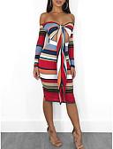 olcso Szilveszteri ruhák-női vékony karosszéria ruha váll fölött