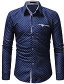 billige Herreskjorter-Skjorte Herre - Polkadotter Gatemote