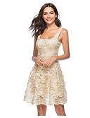 tanie Sukienki sylwestrowe-Damskie Elegancja Linia A Sukienka Nad kolano