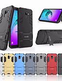 hesapli Cep Telefonu Kılıfları-Pouzdro Uyumluluk Samsung Galaxy J6 (2018) Şoka Dayanıklı / Satandlı Arka Kapak Solid Sert PC