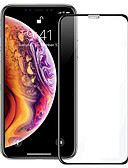 Недорогие Защитные плёнки для экрана iPhone-AppleScreen ProtectoriPhone XS Уровень защиты 9H Защитная пленка на всё устройство 1 ед. Закаленное стекло