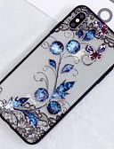 זול חולצה-מגן עבור Apple iPhone XS / iPhone XS Max שקיפות / תבנית כיסוי אחורי פרח קשיח PC ל iPhone XS / iPhone XR / iPhone XS Max