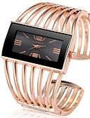 cheap Quartz Watches-Women's Wrist Watch Quartz Silver / Gold / Rose Gold Chronograph Cute New Design Analog Bangle Fashion - Gold / Black Rose Gold Black / Rose Gold One Year Battery Life / SSUO 377