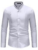 お買い得  スーツ-男性用 シャツ ベーシック カラーブロック