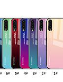 halpa Smartwatch-nauhat-Etui Käyttötarkoitus Huawei Huawei P20 / Huawei P20 Pro / Huawei P20 lite Peili / Kuvio Takakuori Color Gradient Kova Karkaistu lasi