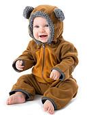 זול אוברולים טריים לתינוקות לבנים-מקשה אחת One-pieces כותנה שרוול ארוך קולור בלוק ספורט פעיל / בסיסי בנים תִינוֹק / פעוטות