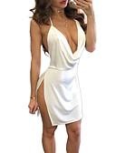 ieftine Dresses For Date-Pentru femei De Bază Teacă Rochie Sub Genunchi