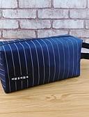 abordables Robe de Patinage-Tissu Oxford Trousse à Cosmétiques Fermeture Noir / Bleu de minuit / Café