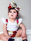 povoljno Hlačice za bebe-Dijete koje je tek prohodalo Djevojčice Osnovni Dnevno Cvjetni print Print Pamuk Hlače Duga